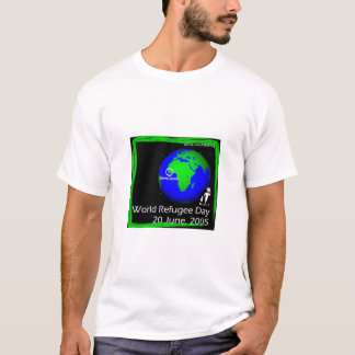 Globe - World Refugee Day rally June 16-22 T-Shirt
