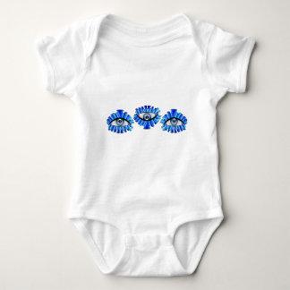 Globellinossa V1 - triple eyes Baby Bodysuit