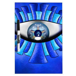 Globellinossa V1 - triple eyes Dry Erase Board