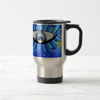 Globellinossa V1 - triple eyes Travel Mug