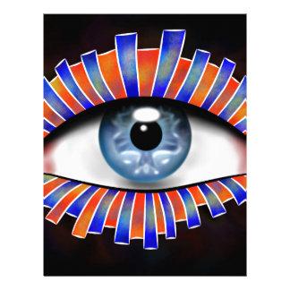 Globellium V1 - an eye on you Customized Letterhead