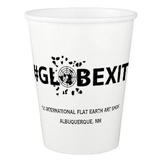 #GLOBEXIT White Paper Cup