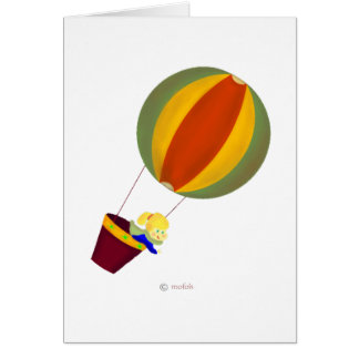 Globo Greeting Card