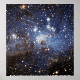 Globular Cluster LH 95 Poster