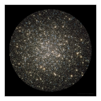 Globular Cluster M13 Center 24x24 (21x21) Poster