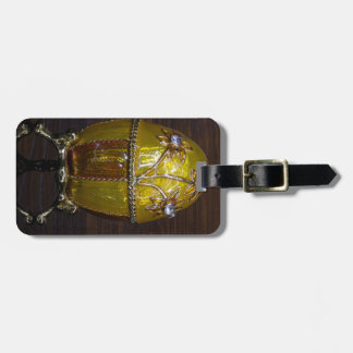 Gloden Garden Egg Luggage Tag