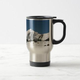 Gloire de montagne ! mug de voyage en acier inoxydable
