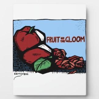 Gloom Fruit Plaque