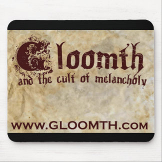 Gloomth logo Mousepad