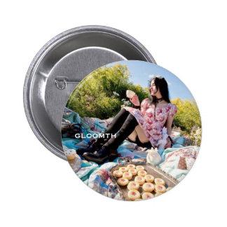 Gloomth Sweet Lolita Fan Badge Pinback Button