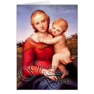 Gloria Christmas card