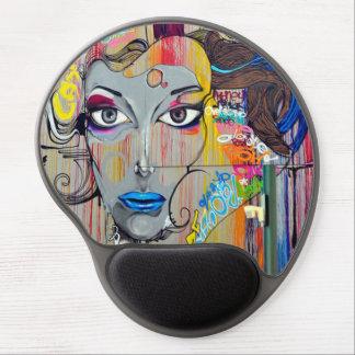 Gloria Graffiti Gel Mousepad