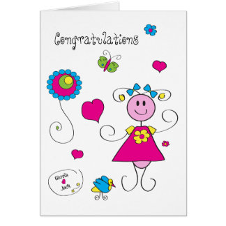 Gloria loves Jack 02 Greeting Card