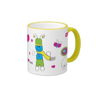 Gloria loves Jack 14 Ringer Mug