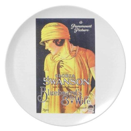 Gloria Swanson Bluebeard's 8th Wife 1923 film Plate