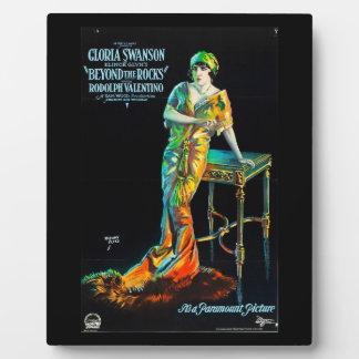 Gloria Swanson Custom Tabletop Plaque