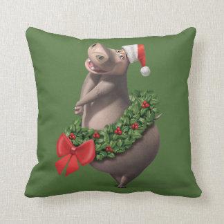 Gloria's Wreath Throw Pillow