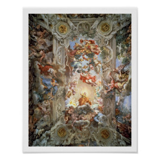 Glorification of the Reign of Pope Urban VIII (156 Poster