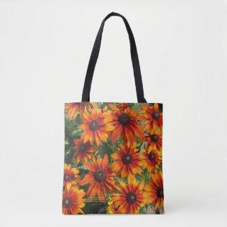 Gloriosa Daisies Rustic Colors Tote Bag