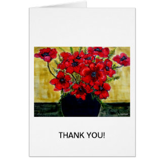 Glorious Anemones designed by Aggelikis Card