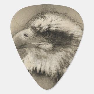 Glorious Bald Eagle Setch Guitar Pick