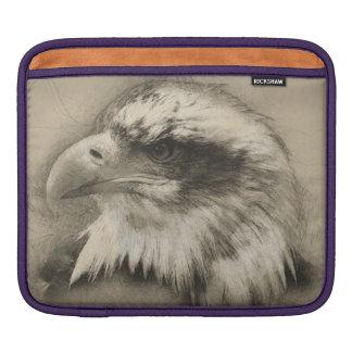 Glorious Bald Eagle Setch iPad Sleeve