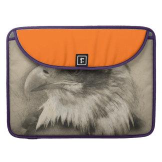 Glorious Bald Eagle Setch MacBook Pro Sleeve