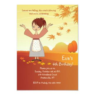 Glorious Fall Invitation