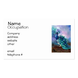 Glorious Peacock II Business Card