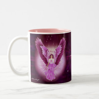 Glorious Pink Sapphire Angel Mug