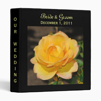 Glorious Rose Wedding Binder