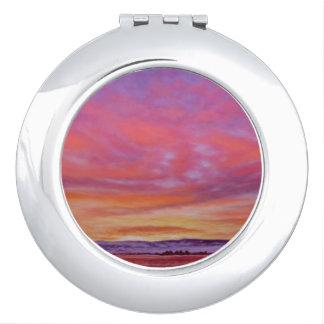 Glorious Sunrise Compact Mirror