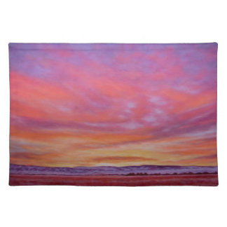 Glorious Sunrise One Sided Cotton Placemat