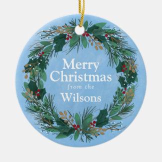 Glorious Wreath | Christmas Ornament