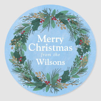 Glorious Wreath | Holiday Sticker