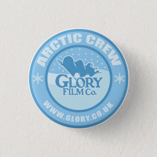 Glory Arctic Crew button. 1 Inch Round Button