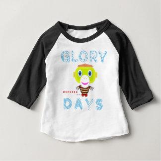 Glory Days-Cute Monkey-Morocko Baby T-Shirt