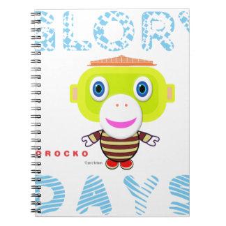 Glory Days-Cute Monkey-Morocko Notebooks
