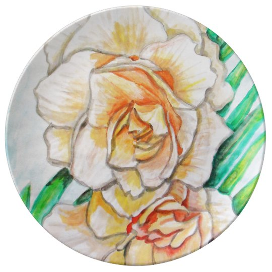Glory Flower Plate