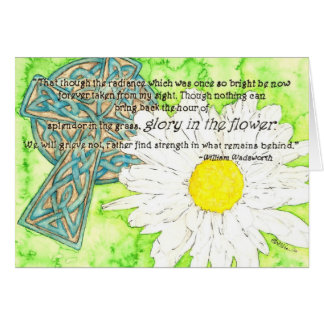 Glory in the Flower Card