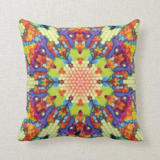 Glory Kaleidoscope Throw Pillow