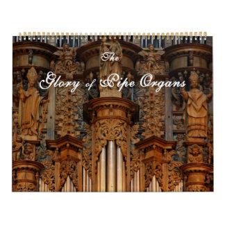 Glory of Pipe Organs Calendar