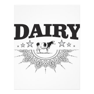 glory of the dairy letterhead