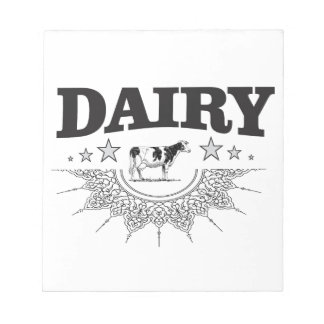 glory of the dairy notepad