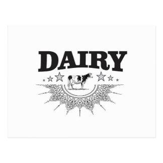 glory of the dairy postcard