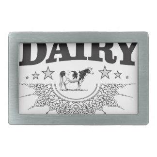 glory of the dairy rectangular belt buckle