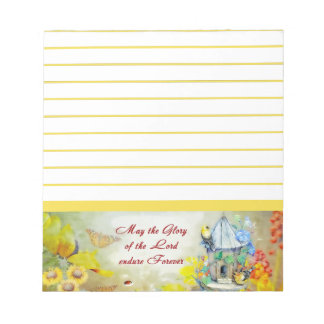 Glory of the Lord Notepad
