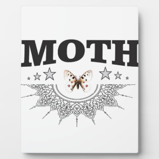 glory of the moth plaque