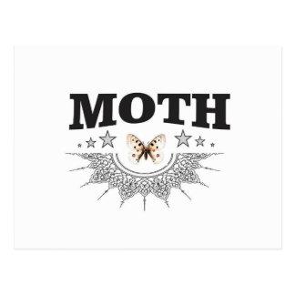 glory of the moth postcard