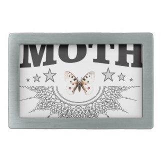 glory of the moth rectangular belt buckle